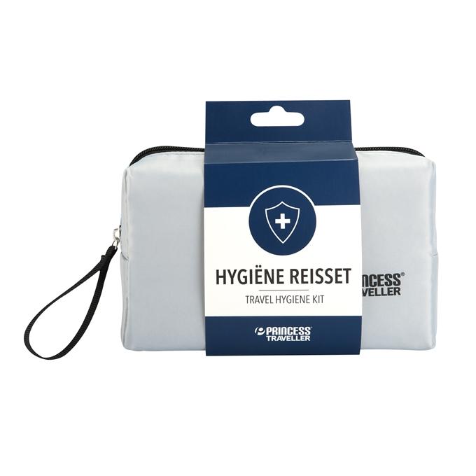 Princess Traveller 11-Delige Travel Hygiene Kit zilver