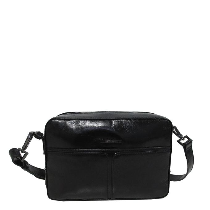 Claudio Ferrici Pelle Vecchia Shoulder Bag black V