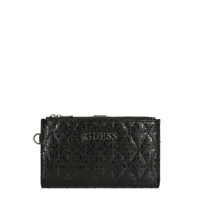 Guess Wessex SLG Double Zip Organizer black