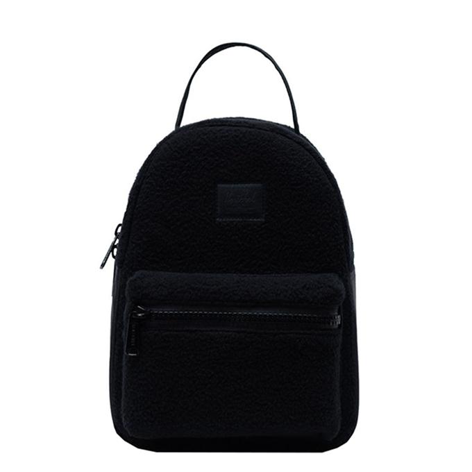 Herschel Supply Co. Nova Mini Rugzak Sherpa Fleece black - 1