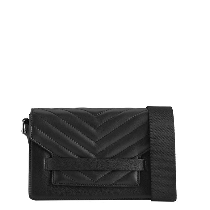 Markberg Arabella Puffer Crossbody Bag black/black
