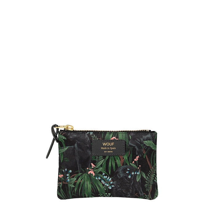 Wouf Janne Small Pouch forest multi