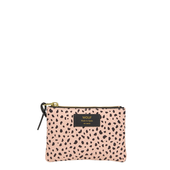 Wouf Wild Small Pouch leopard multi