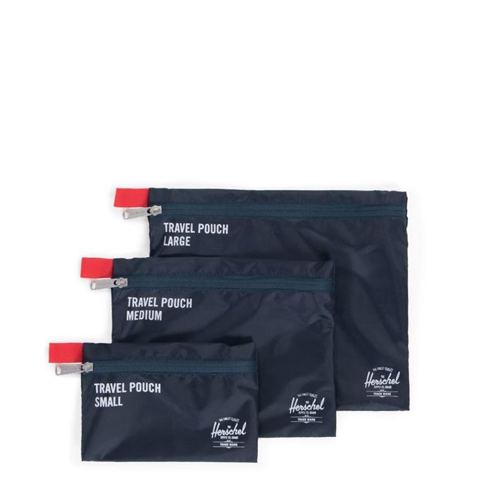 Herschel Supply Co. Travel Accessories Travel Pouches navy/red - 1