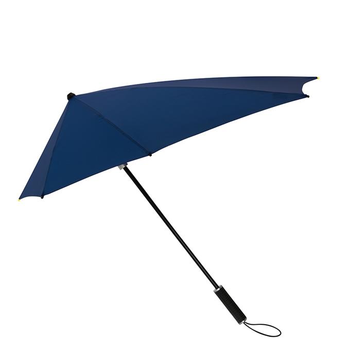 Impliva STORMaxi Aerodynamische Stormparaplu donker blauw - 1