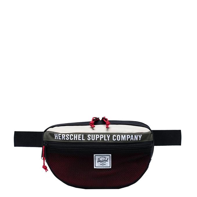 Herschel Supply Co. Nineteen Heuptas Athletics dark olive/black