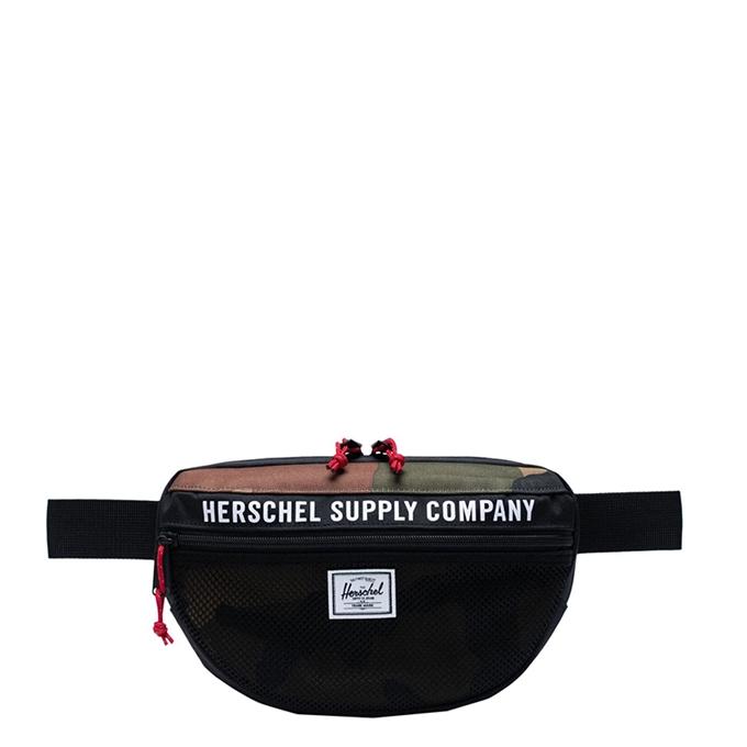 Herschel Supply Co. Nineteen Heuptas Athletics black/woodland camo - 1