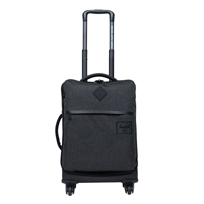 Herschel Supply Co. Highland Carry-On Trolley black crosshatch