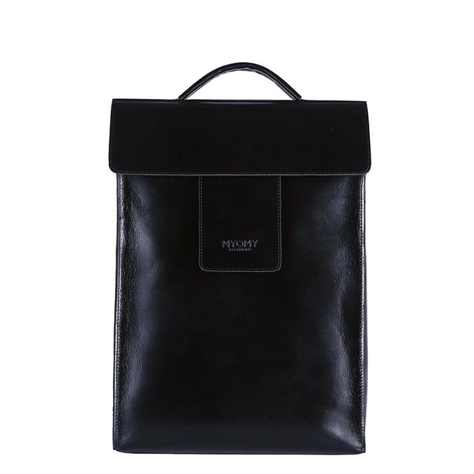 MYoMY Home Bag Backbag hunter waxy black - 1