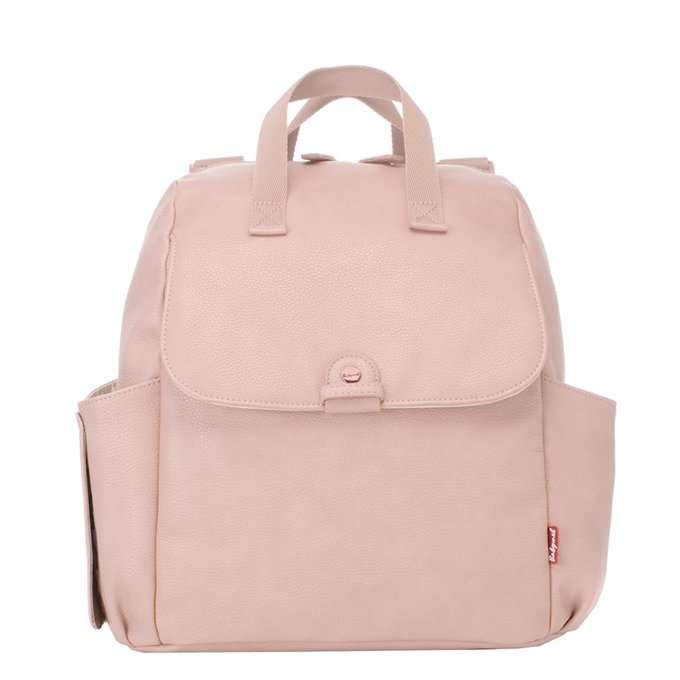 Babymel Robyn Convertible Backpack faux leather blush - 1