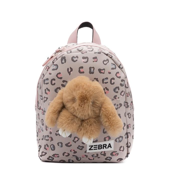 Zebra Trends Girls Rugzak S Honey Bunny leo camel