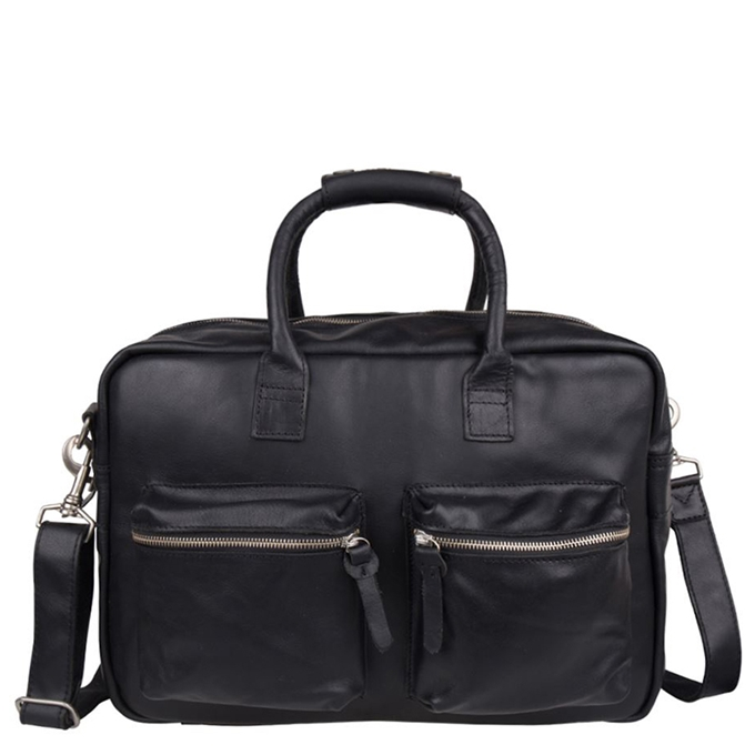 "Cowboysbag The College Bag Laptoptas 15.6"" black - 1"