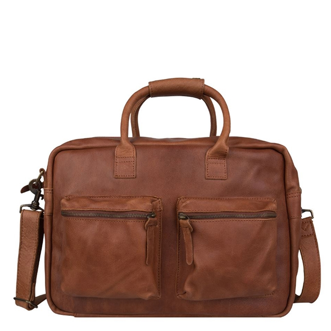"Cowboysbag The College Bag Laptoptas 15.6"" cognac - 1"
