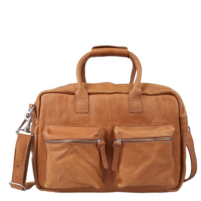 "Cowboysbag The College Bag Laptoptas 15.6"" tobacco"