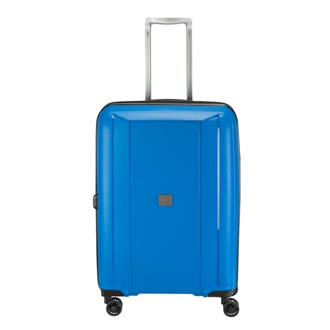 Princess Traveller Havana 4 Wiel Trolley M blue - 1