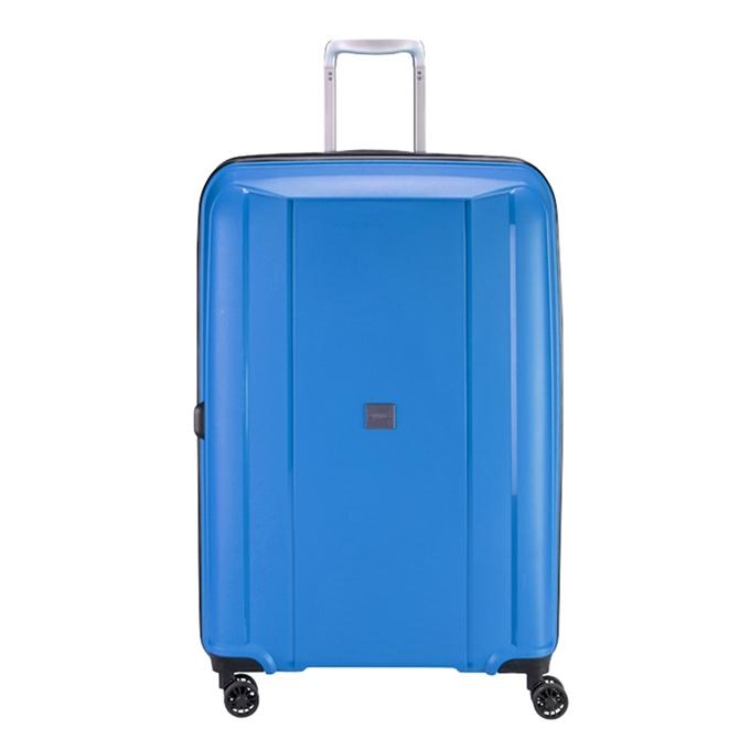 Princess Traveller Havana 4 Wiel Trolley L blue