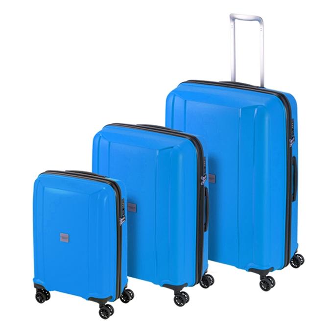 Princess Traveller Havana 3 Delige Kofferset blue - 1