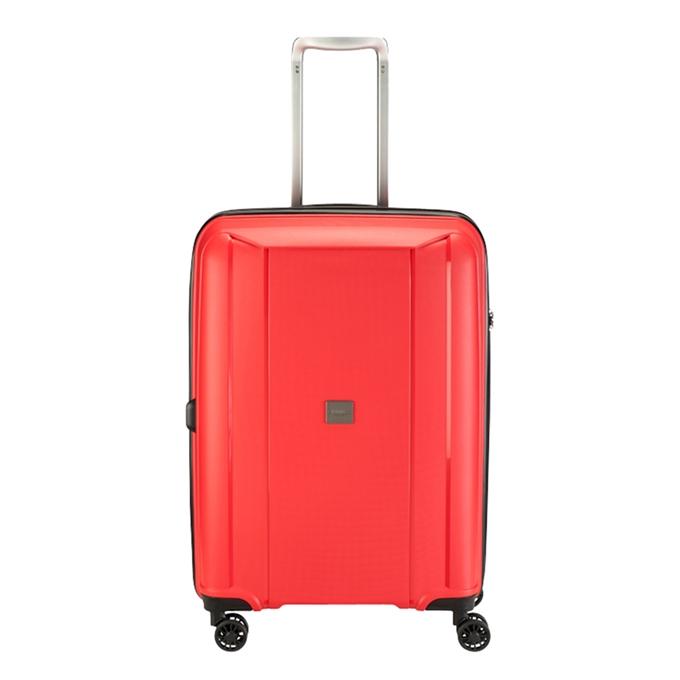 Princess Traveller Havana 4 Wiel Trolley M red