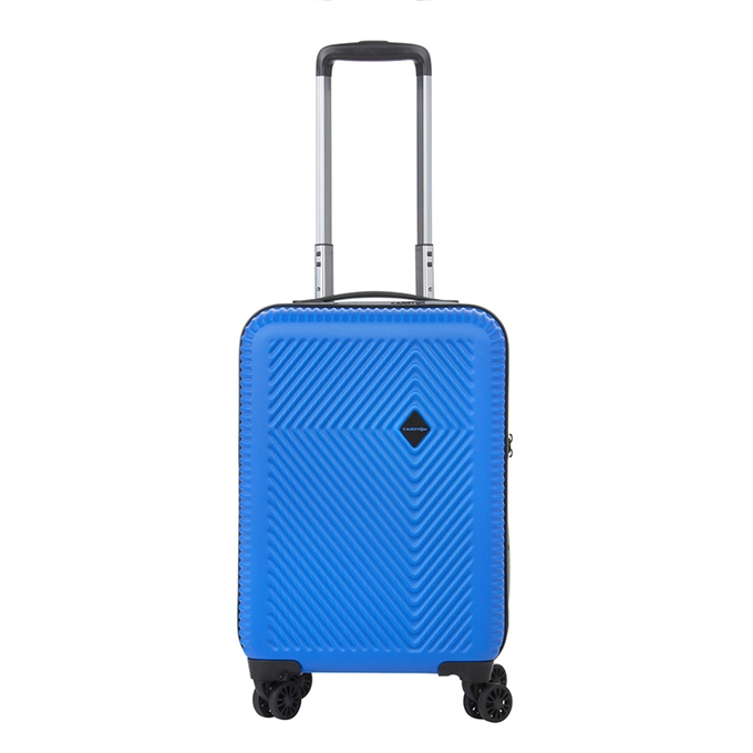 CarryOn Connect 4 Wiel Trolley 55 USB blue - 1