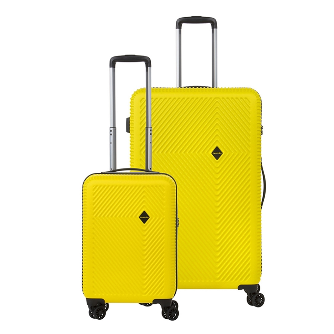 CarryOn Connect Trolleyset 2pc yellow