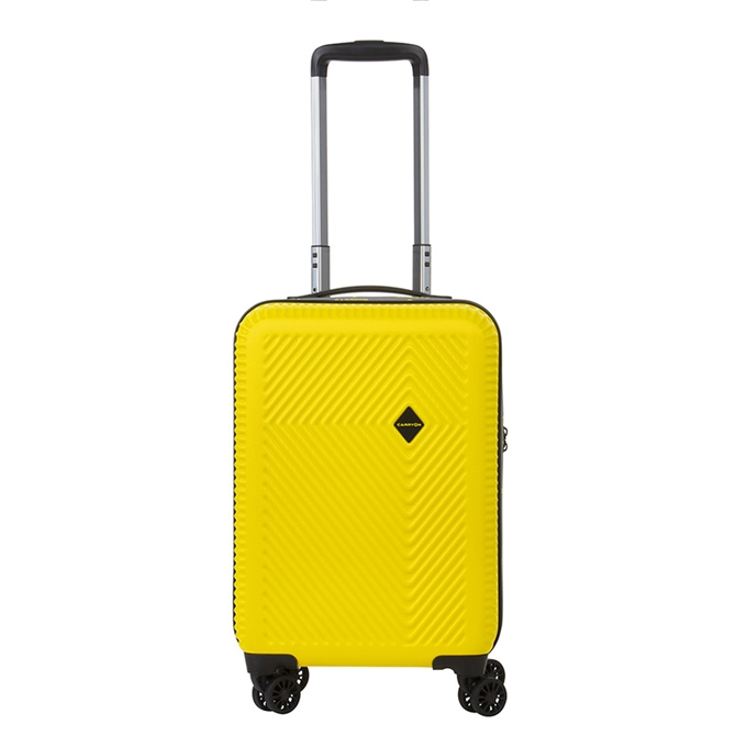 CarryOn Connect 4 Wiel Trolley 55 USB yellow - 1