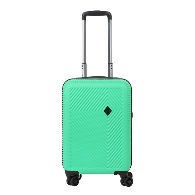 CarryOn Connect 4 Wiel Trolley 55 USB green - 1