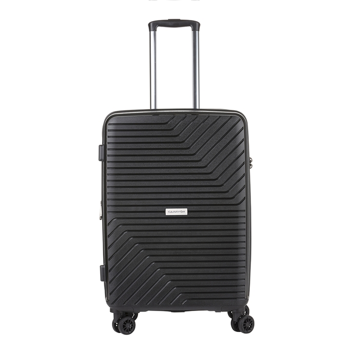 CarryOn Transport 4 Wiel Trolley 67 Expandable black - 1
