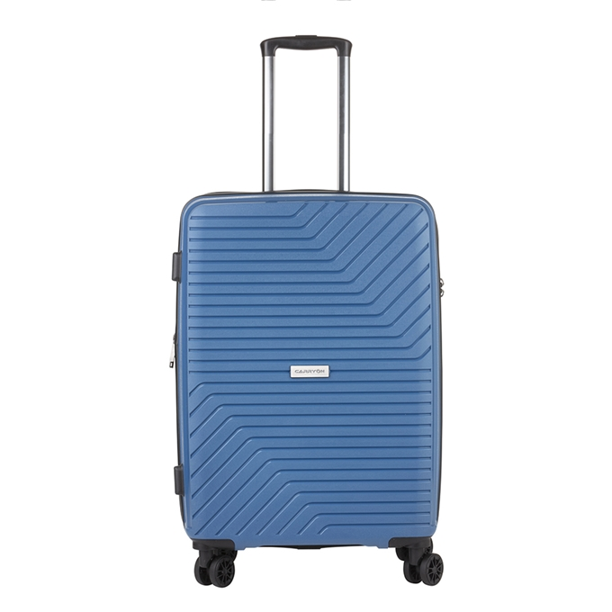 CarryOn Transport 4 Wiel Trolley 67 Expandable blue - 1