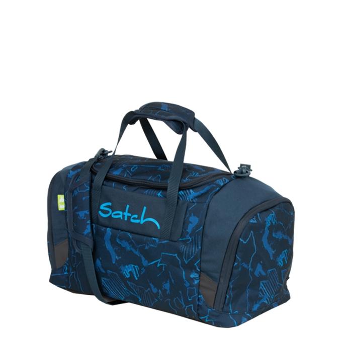 Satch Sport Duffle blue compass - 1
