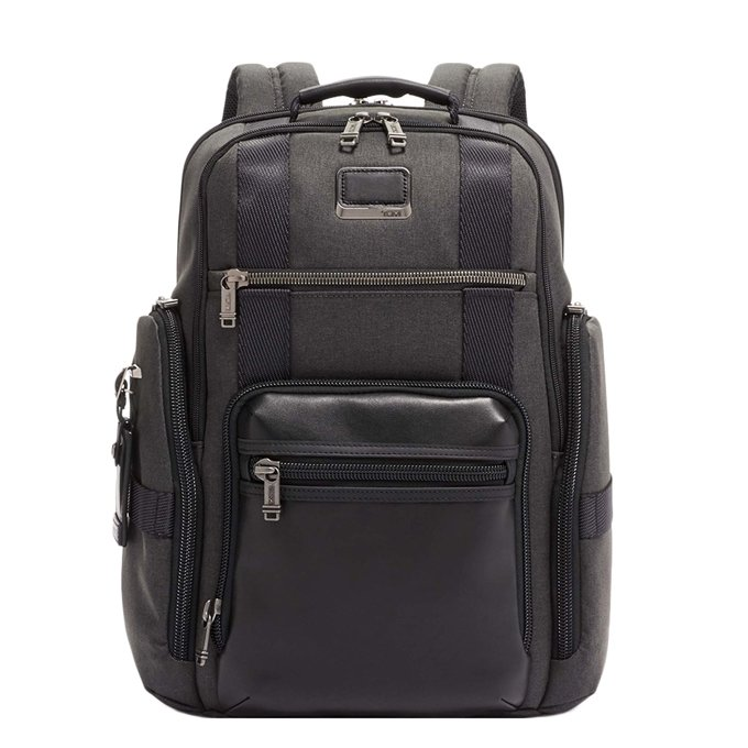 Tumi Alpha Bravo Sheppard Deluxe Brief Pack graphite