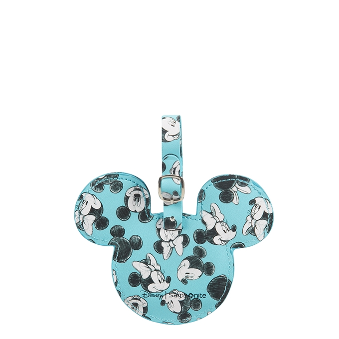 Samsonite Accessoires Disney ID Tag mickey/minnie blue - 1