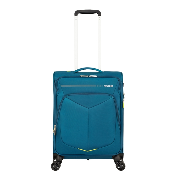 American Tourister Summerfunk Spinner 55 Expandable teal - 1