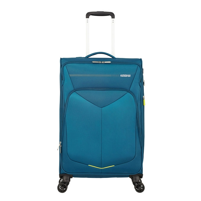 American Tourister Summerfunk Spinner 67 Expandable teal - 1