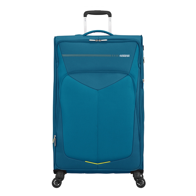 American Tourister Summerfunk Spinner 79 Expandable teal - 1
