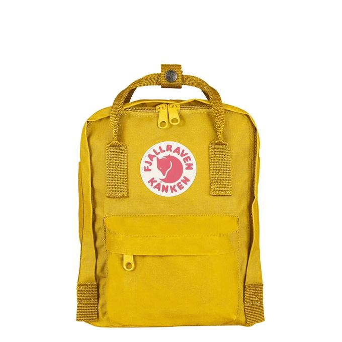 Fjallraven Kanken Mini Rugzak warm yellow - 1