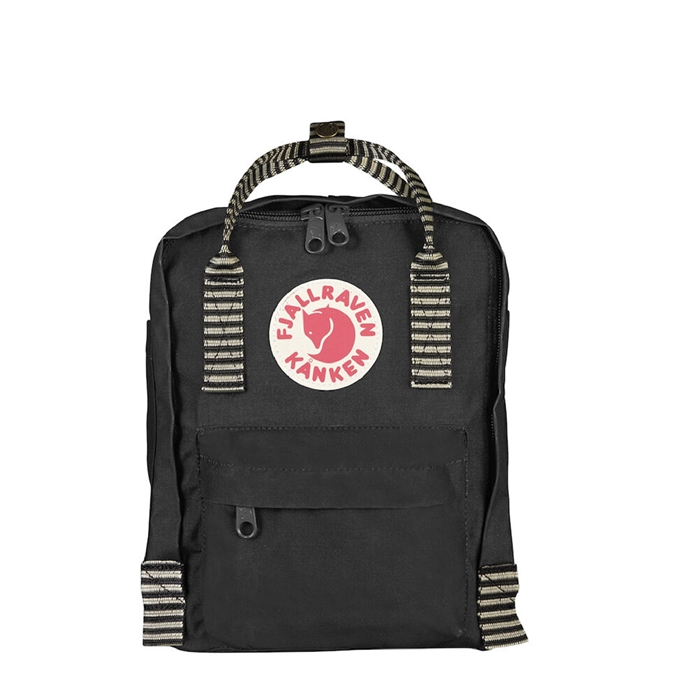 Fjallraven Kanken Mini Rugzak black-striped - 1