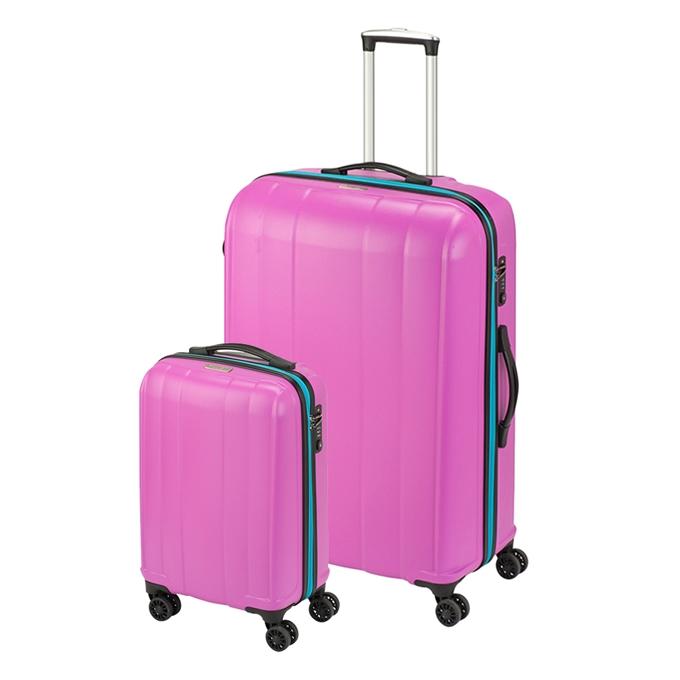 Princess Traveller Montreal 2 Delige Kofferset pink - 1