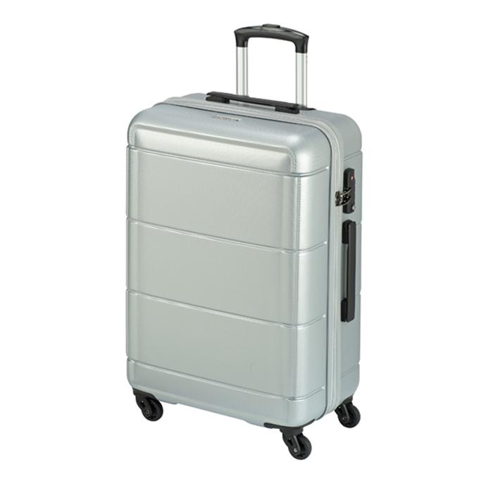 Princess Traveller Macau 4 Wiel Trolley L silver - 1