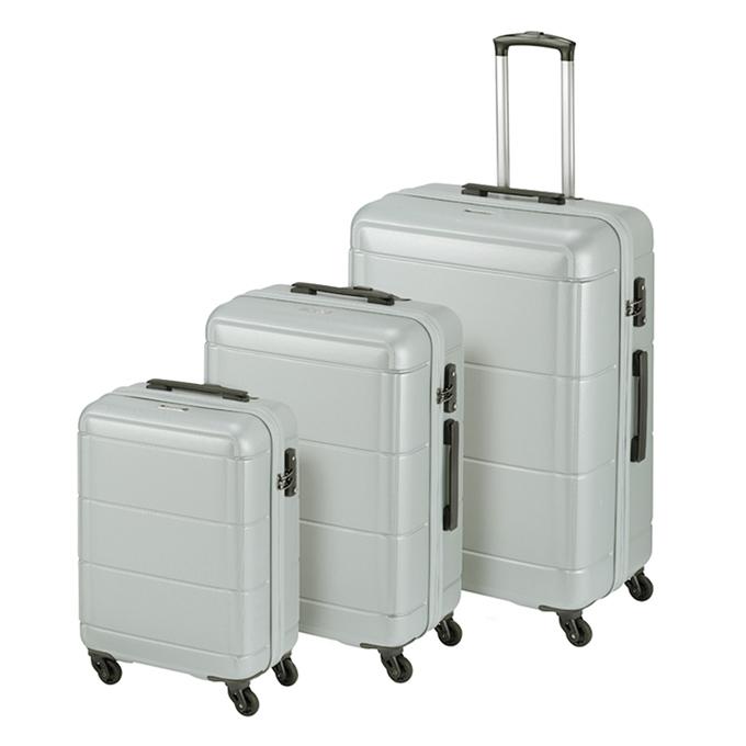 Princess Traveller Macau 3 Delige Kofferset silver - 1