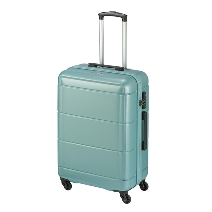 Princess Traveller Macau 4 Wiel Trolley M light blue - 1