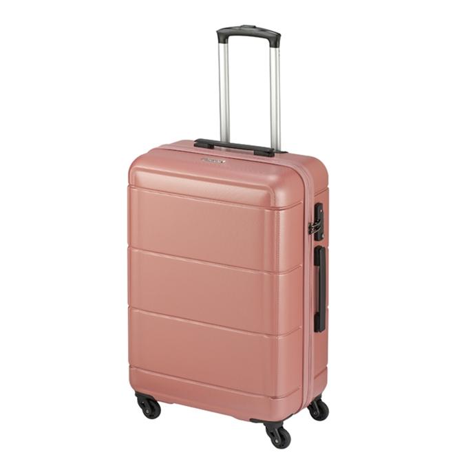 Princess Traveller Macau 4 Wiel Trolley M pink - 1