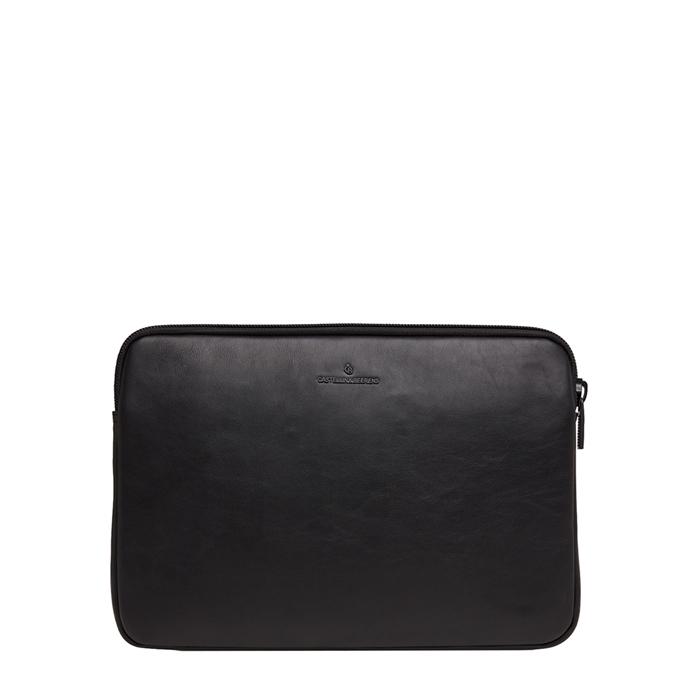 Castelijn & Beerens Nappa X Oscar Laptopsleeve 13'' zwart - 1