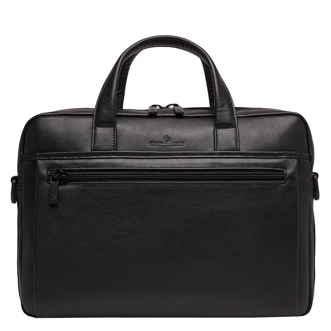 Castelijn & Beerens Nappa X Echo Laptop / Tablet Tas 15.6'' zwart - 1
