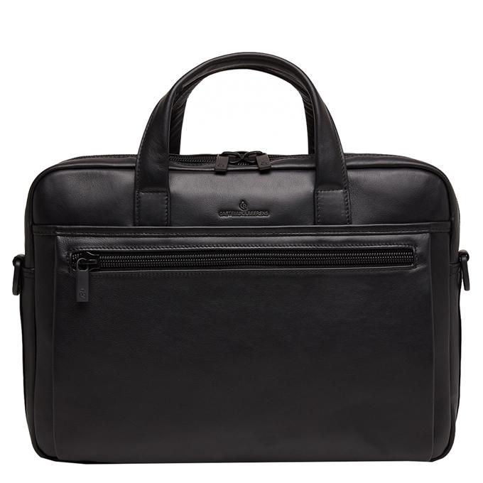 Castelijn & Beerens Nappa X Charlie Laptop / Tablet Tas 15.6'' zwart - 1