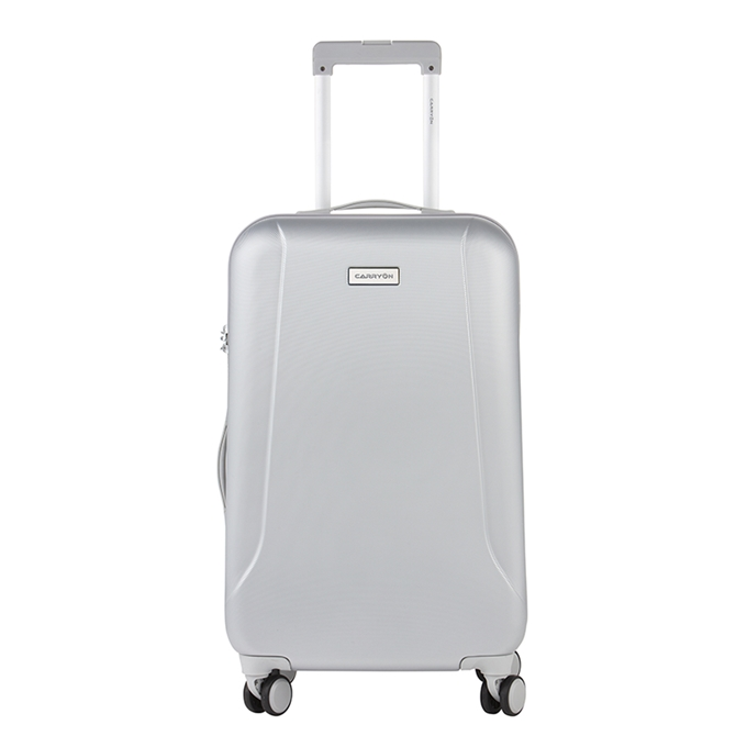 CarryOn Skyhopper 4 Wiel Trolley 68 silver - 1