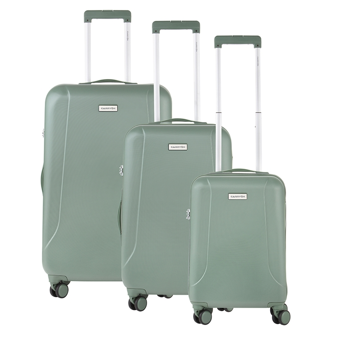 CarryOn Skyhopper Trolleyset 3pcs TSA olijf - 1