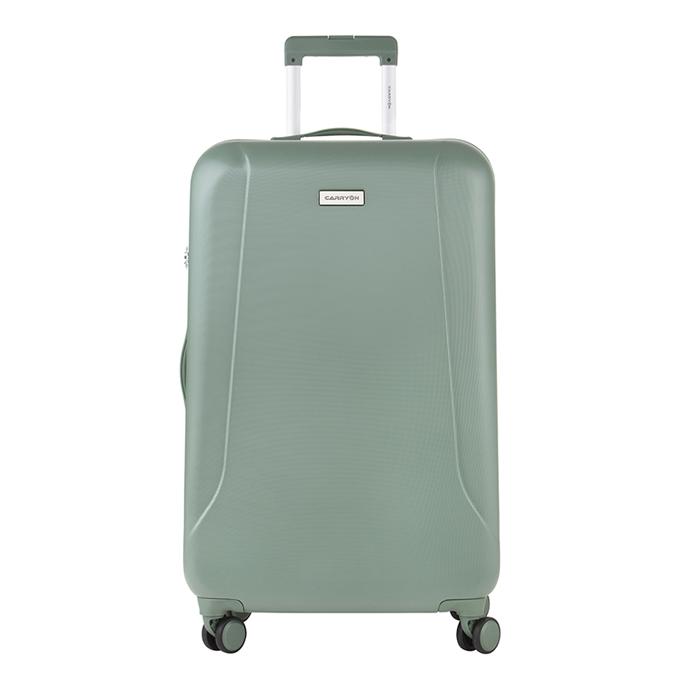 CarryOn Skyhopper 4 Wiel Trolley 78 olive - 1