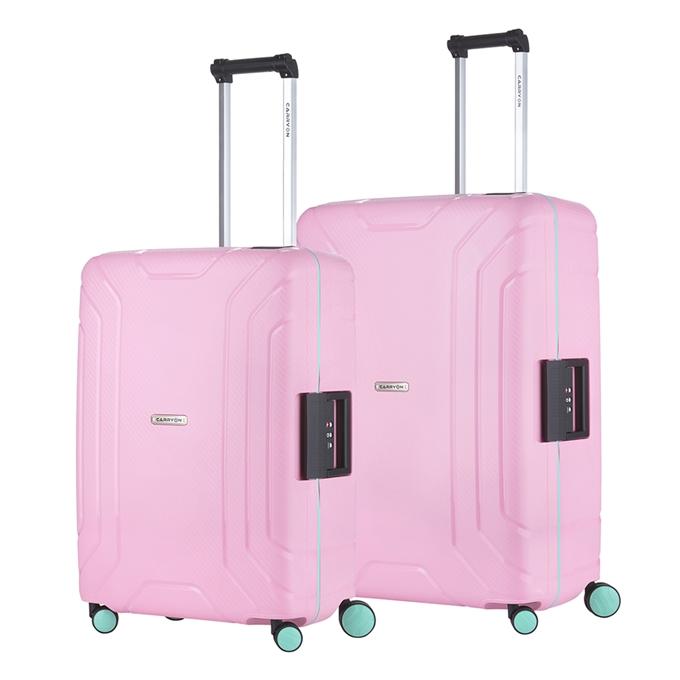 CarryOn Steward Trolleyset 2pc light pink - 1