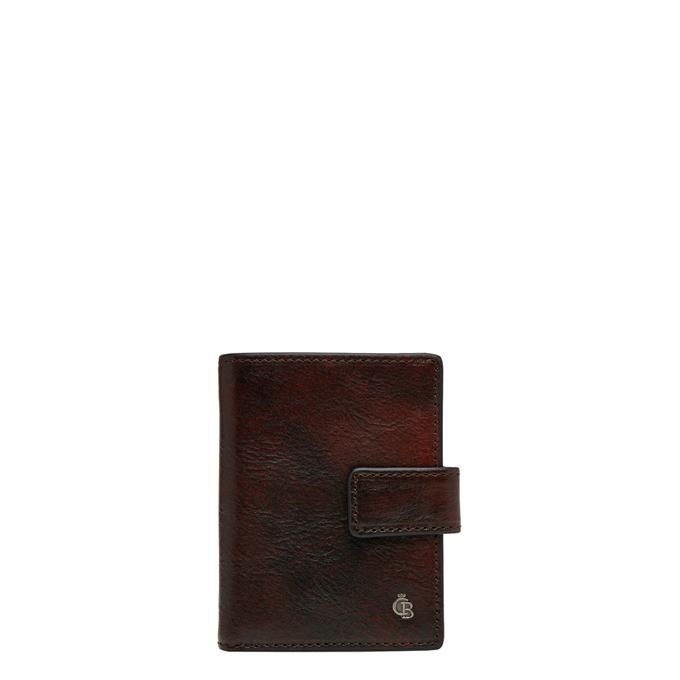 Castelijn & Beerens Rien RFID Mini Wallet 10cc cognac - 1