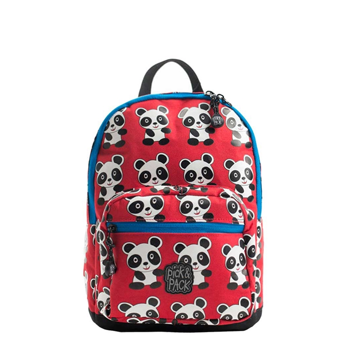 Pick & Pack Panda Backpack S red multi - 1
